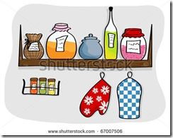 stock-photo-picture-of-kitchen-shelf-with-bottles-and-jam-jars-67007506