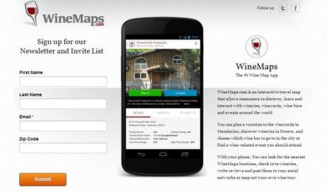 winemap app