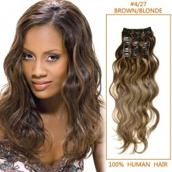 Wavy Clip In Human Hair Extension